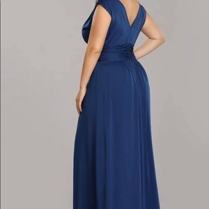 Dresses - midnight blue evening gown
